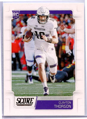 2019 Score Football #411 Clayton THorson RC