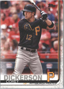 Corey Dickerson #89 card Pirates 2019 Topps Series 1 Baseball