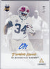 Damien Harris Autograph Rookie Card 2019 Panini Luminance Gold #RI-DHA