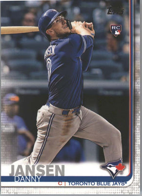 2019 Topps Series 1 Baseball Danny Jansen Rookie Card #67 Blue Jays