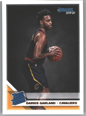 Darius Garland Rated Rookie Card #250 2019-20 Donruss Basketball
