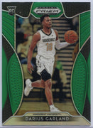 Green Prizm Darius Garland Rookie Card #6 2019 Panini Prizm Draft Pick Vanderbilt University