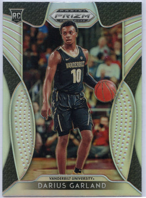 Darius Garland silver rookie card #68 Prizm Draft Picks 2019 Vanderbilt University