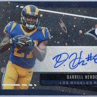 Darrell Henderson autograph rookie card 2019 Unparalleled Football No. 253
