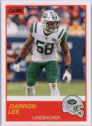 Darron Lee 2019 Score Football #161 NY Jets card