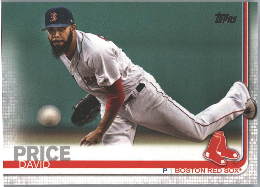David Price card #13 Boston Red Sox 2019 Topps Series 1 Baseball