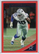 DeMarcus Lawrence red Press Proof insert card 2018 Donruss Football