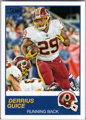 Derrius Guice 2019 Score Football #194 Redskins