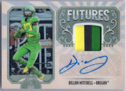 Dillon Mitchell Rookie Patch Auto RPA 2019 Legacy Football