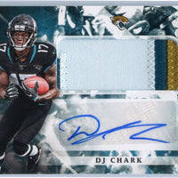 DJ Chark RPA rookie card patch autograph 2018 Origins Football No. 115 Jacksonville Jaguars