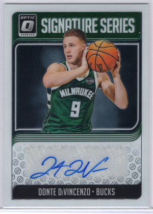 Donte DiVincenzo Signature Series Donruss Optic Basketball SG-DDV