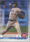 Duane Underwood Jr Rookie Card #315 Topps Series 1 Baseball 2019