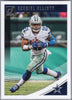 Ezekiel Elliott 2018 Panini Donruss Football #76 Cowboys card