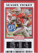 Ezekiel Elliott 2019 Panini Contenders Draft Picks #39 card