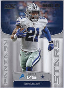 Ezekiel Elliott 2019 Panini Score Football FS-17 Fantasy Stars Cowboys card