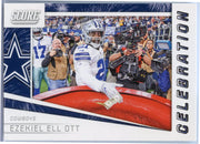 2019 Score Football Celebration Ezekiel Elliott C-2 card