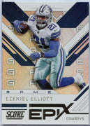 2019 Score Football EPIX Game Ezekiel Elliott EG-9