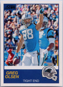 Greg Olsen 2019 Score football #258 Carolina Panthers