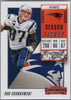 Rob Gronkowski 2018 Panini Contenders #37 football card