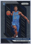 Hamidou Diallo RC 2018-19 Panini Prizm Basketball No. 9 OKC Thunder