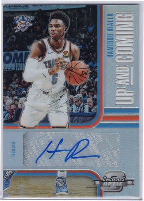 Hamidou Diallo Auto Up And Coming No. UC-HDL card