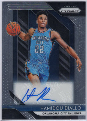 Hamidou Diallo Auto RC 2018-19 Panini Prizm Basketball No. RS-HDL