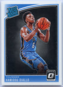 Hamidou Diallo Rated Rookie 2018-19 Donruss Optic Basketball No. 171