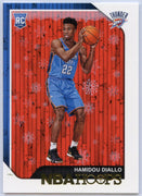 Hamidou Diallo RC 2018-19 Hoops Basketball No. 275 OKC Thunder