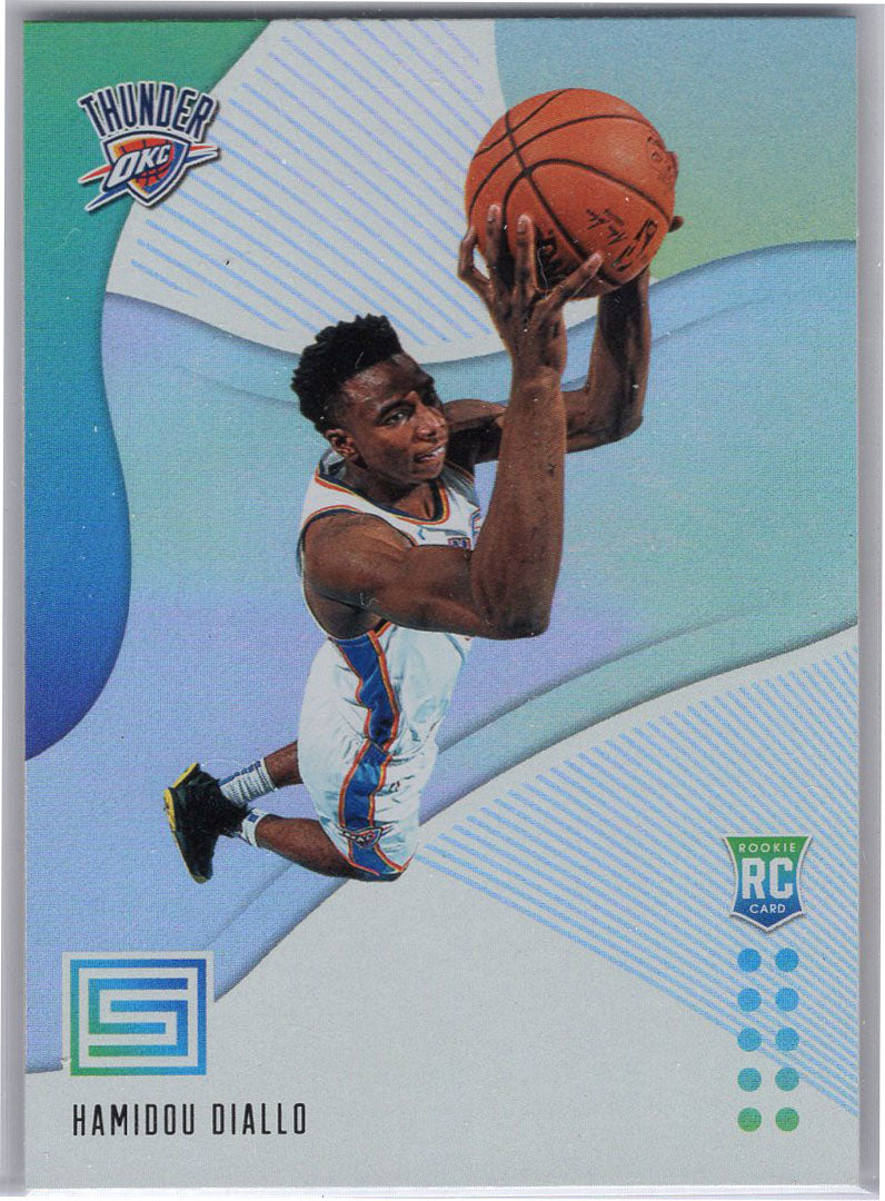 Hamidou Diallo RC 2018-19 Status Basketball No. 125