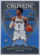 Hamidou Diallo RC 2018-19 Panini Crusade No. 558