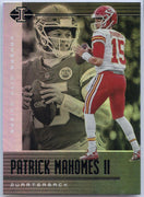 Patrick Mahomes II Card #52 2020 Illusions Football Chiefs QB