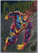1994 Marvel Universe Limited Edition Cyclops Power Blast card