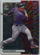 2020 Donruss Optic STAINED GLASS Nolan Arenado Card #SG-1