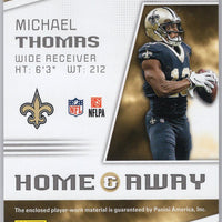 2019 Score Football Home & Away Michael Thomas New Orleans Saints Relic Patch H-3 card