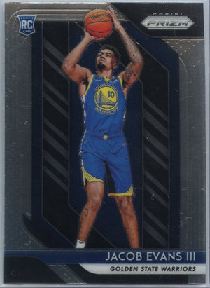 2018-19 Prizm Basketball Jacob Evans III Rookie Card #212