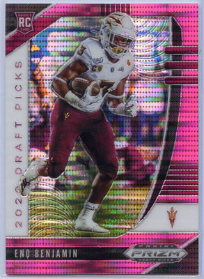 Eno Benjamin Pink PRIZM Rookie Card #119 2020 Prizm Draft Picks Pink Prizm RB