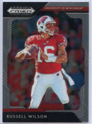 2019 Panini Prizm Draft Picks Russell Wilson #83 Wisconsin Badgers card