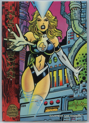 1994 Marvel Universe Super-Heroes Invisible Woman #192