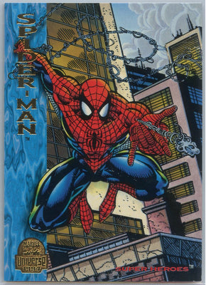 1994 Marvel Universe Super-Heroes Spider-Man #130