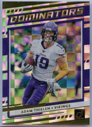 2020 Donruss Football Adam Thielen DOMINATORS card #D-AT
