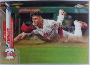 2020 Topps Chrome Scott Kingery REFRACTOR Card #64