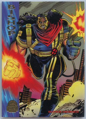 1994 Marvel Universe Super-Heroes Bishop #93