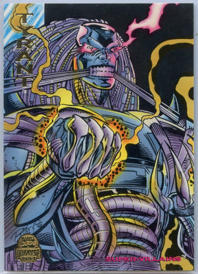 1994 Marvel Universe Super-Villains Tyrant #158