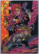 1994 Marvel Universe Super-Heroes Black Widow #144