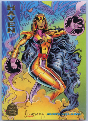 1994 Marvel Universe Super-Villains Haven #102