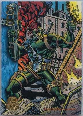 1994 Marvel Universe Super-Villains Solo #129