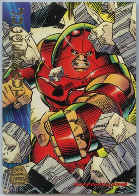 1994 Marvel Universe Super-Villains Juggernaut #105