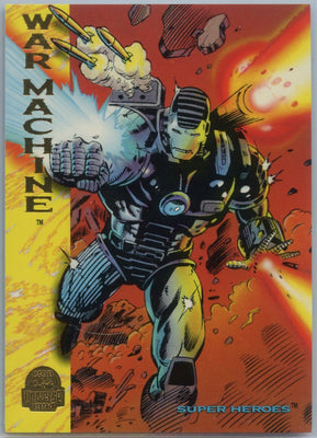 1994 Marvel Universe Super-Heroes War Machine #164