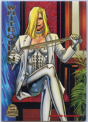1994 Marvel Universe Super-Heroes White Queen #123