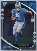 2020 Absolute Football D'Andre Swift Rookie Card #124 Lions Running Back